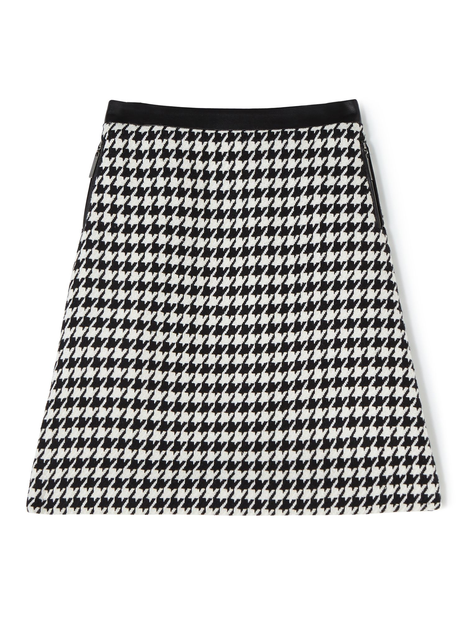 Precis Petite Sian Houndstooth Skirt, Multi-Coloured