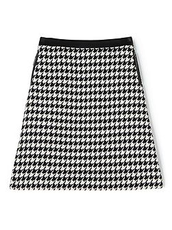 Sian Houndstooth Skirt