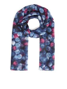Eastex Large Painterley Spot Scarf