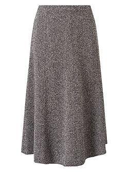 Tweed A Line Skirt Shorter