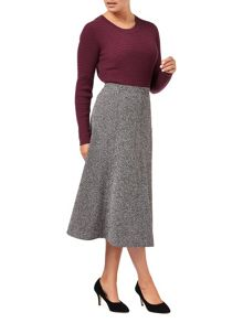 Eastex Tweed A Line Skirt Shorter