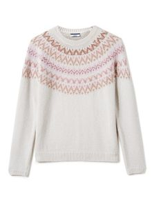 Dash Alpaca Fairisle Jumper