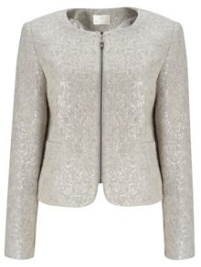 Jacques Vert Sequin Knit Jacket
