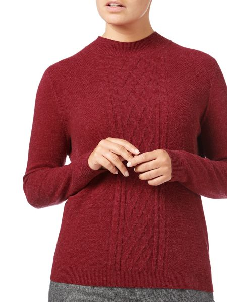 Eastex Cable Turtle Neck Jumper