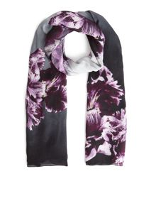 Eastex Brushstroke Colourblock Scarf