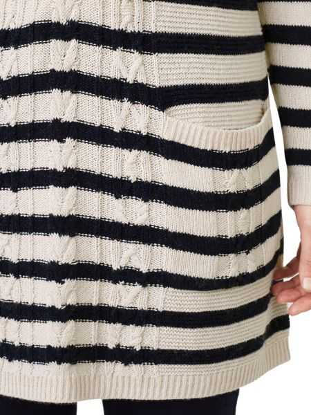 Dash Cable Stripe Knit Tunic