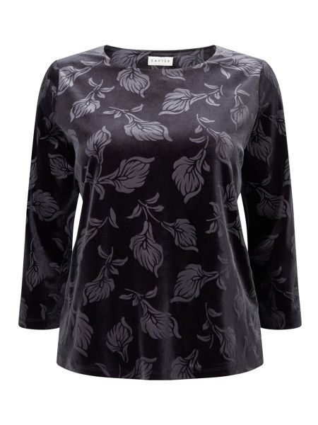 Eastex Embossed Velvet Top