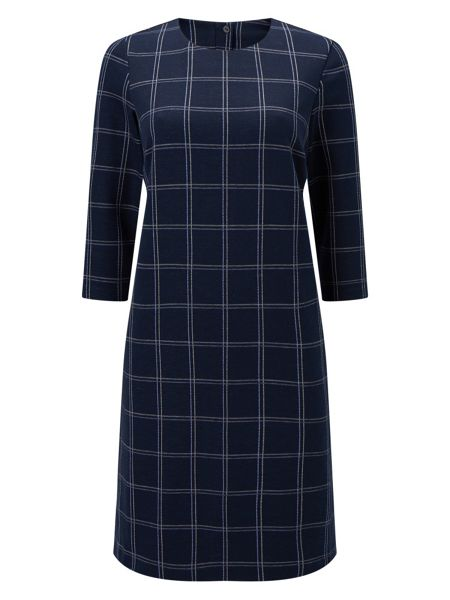 Eastex Check Jersey Dress