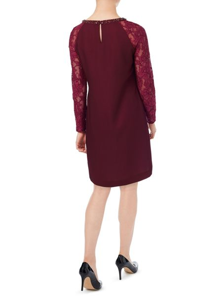 Jacques Vert Petite Lace Sleeve Tunic