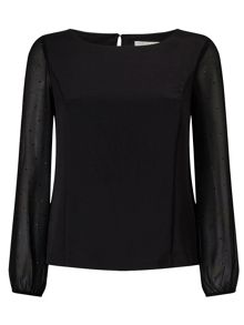 Jacques Vert Petite Hot Fix Detail Top