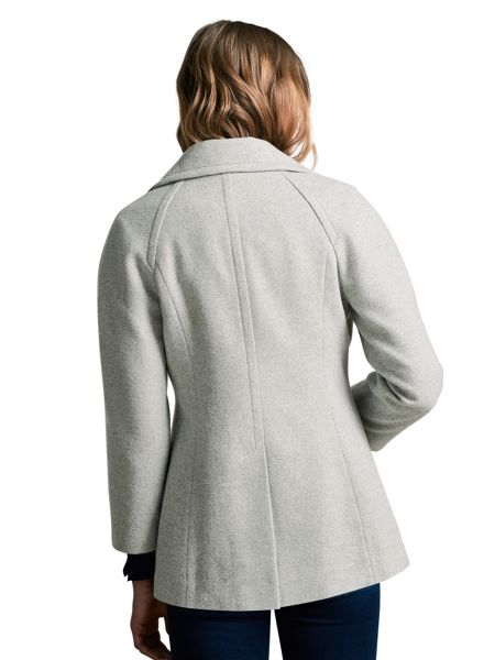 Windsmoor Pu Trim Pea Coat