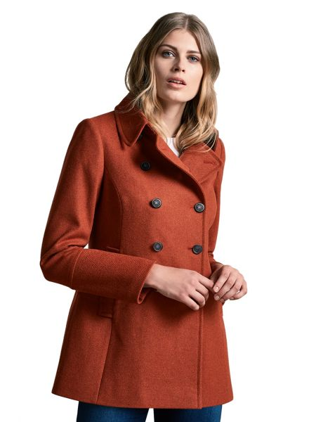 Windsmoor Wool Military Coat