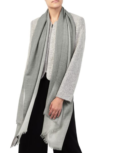 Jacques Vert Soft Check Ombre Scarf