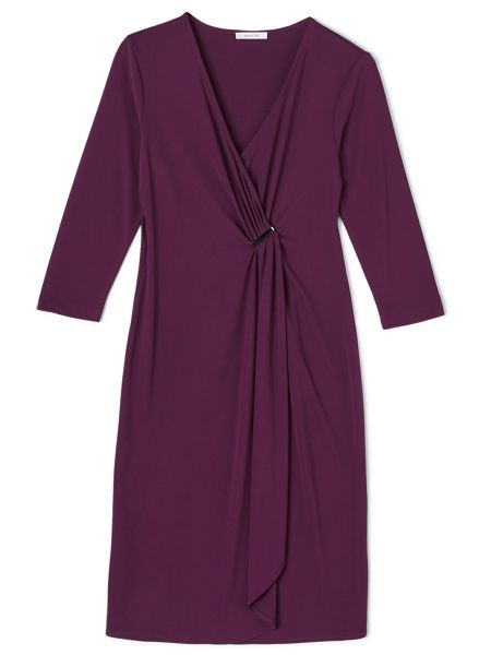Precis Petite Eleanor 3/4 Sleeve Wrap Dress