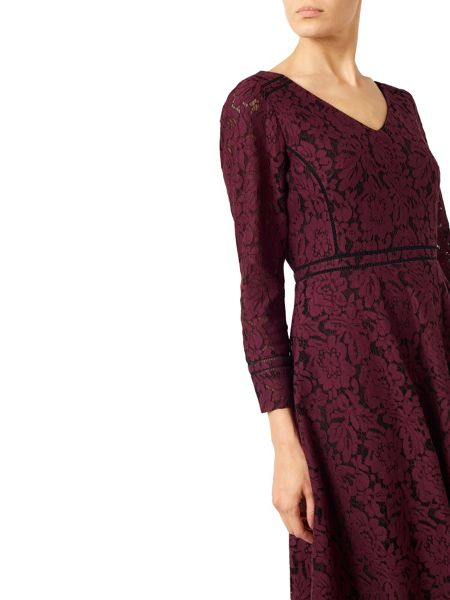 Jacques Vert Lace And Detail Dress