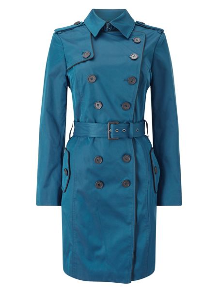 Jacques Vert CONTRAST TRIM TRENCH