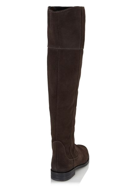 Jacques Vert Suede Over The Knee Boot