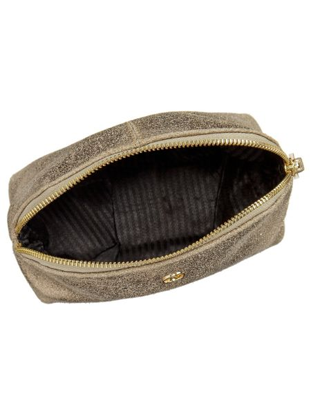 Jacques Vert Leather Make Up Bag