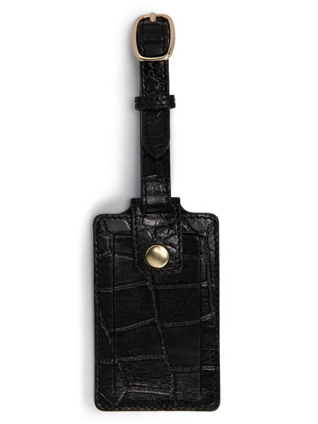 Jacques Vert Leather Luggage Tag