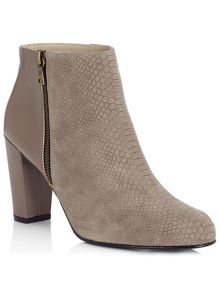 Jacques Vert Snake Effect Ankle Boot