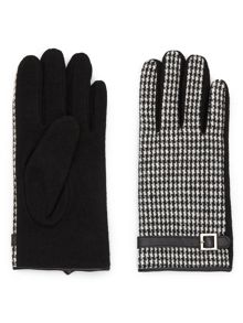 Jacques Vert Dogtooth Wool Glove