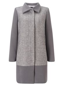 Jacques Vert Textured Block Coat