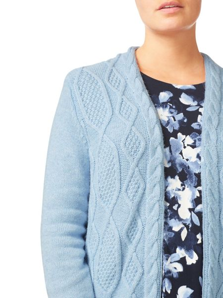 Eastex Cable Front Cardigan