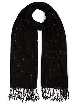 Sequin Stripe Scarf