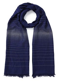 Two Tone Lurex Scarf