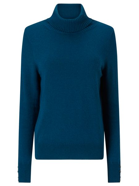 Jacques Vert Roll Neck Cashmere Mix Jumper