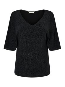 Jacques Vert Sparkle Cold Shoulder