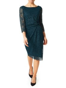 Precis Petite Paige All Over Lace Dress