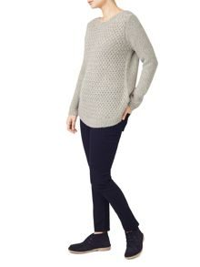 Dash Basket Cable Tunic