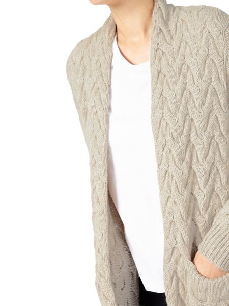 Dash Chunky Cable Knit Cardi