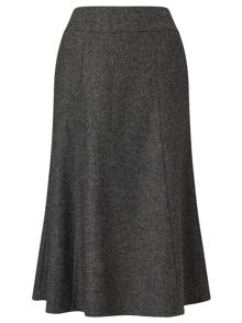 Eastex Charcoal Wool Skirt