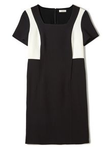 Precis Petite Jeff Banks Mono Shift Dress
