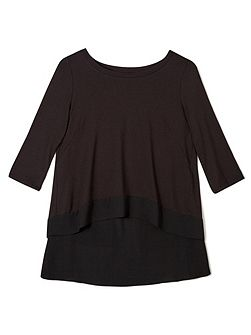 Jeff Banks Chiffon Cape Top