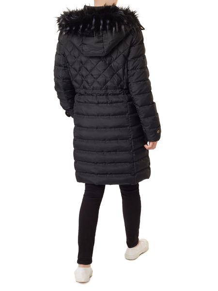 Precis Petite Gracie Fur Collar Coat