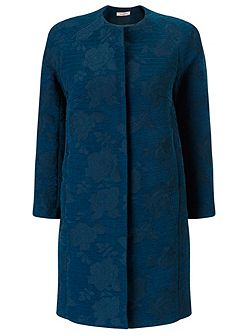 JACQUARD LONGER LENGTH JACKET