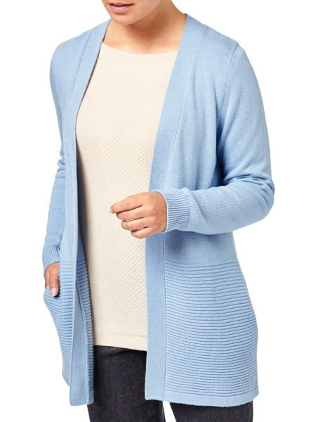 Eastex Ribbed Cardigan