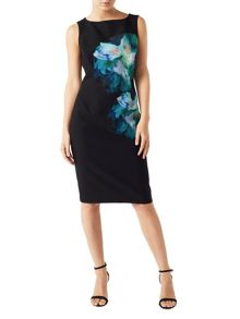Precis Petite Alanna Printed Jersey Dress