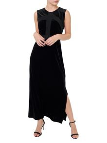 Precis Petite Jennifer Velvet Maxi Dress