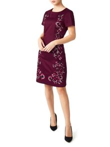 Precis Petite Dianne Embroidered Dress