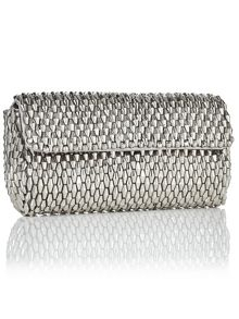 Jacques Vert Facet Beaded Clutch