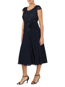 Jacques Vert Soft Fit And Flare Dress