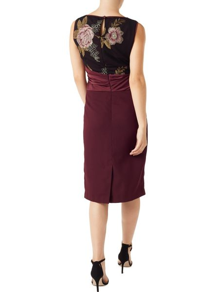 Precis Petite Ashley Satin Skirt Dress