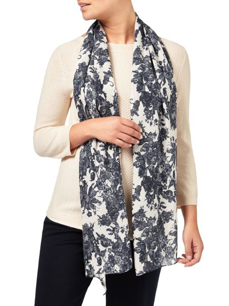 Eastex Lace Print Scarf