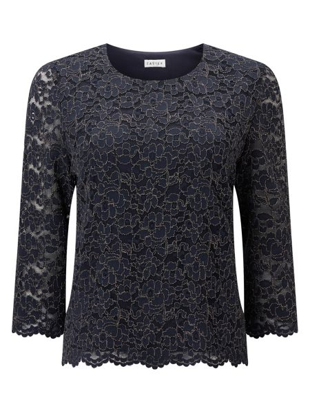 Eastex Glitter Lace Top
