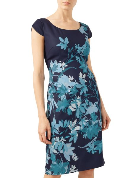 Jacques Vert Bali Floral Print Dress