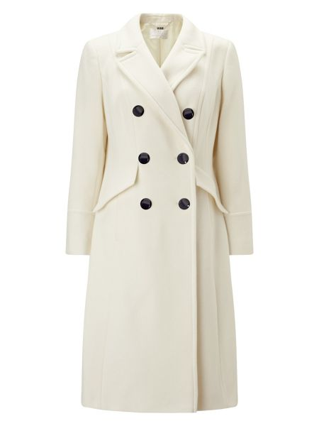 Jacques Vert Double Breasted Coat